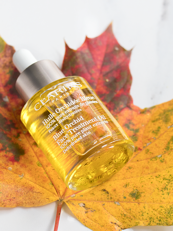 Clarins Blue Orchid Face Treatment Oil - Dehydrated Skin - Autumn Skincare Switch