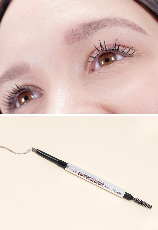 Emma Close Up Of Benefit Goof Proof Brow Pencil Medium