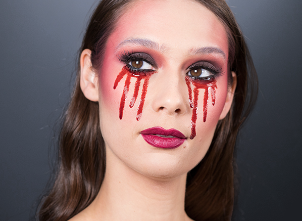 #HauntCouture Gothic Halloween Makeup