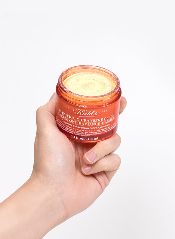 Kiehl's Turmeric & Cranberry Seed Energizing Radiance Masque - Blog Edit 2