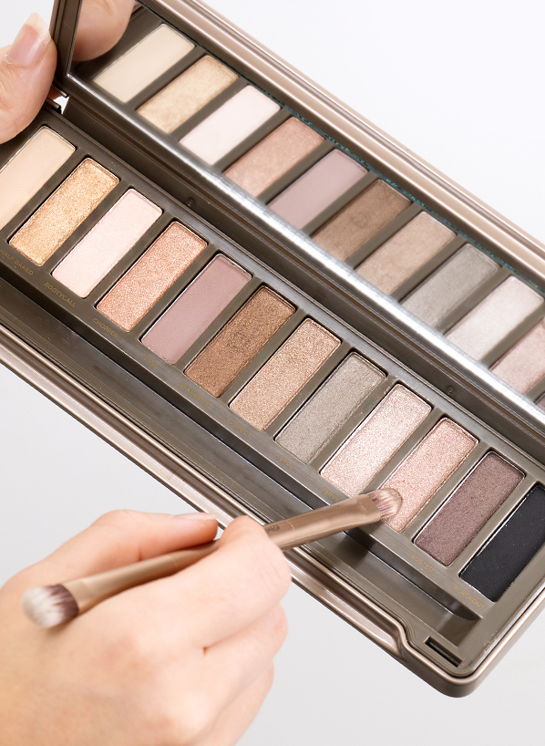 Urban Decay Naked 2 Palette - Model Shot - Blog Edit