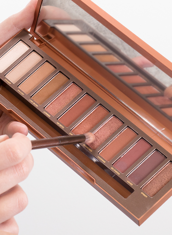 Urban Decay Naked Heat Palette - Model Shot - Blog Edit