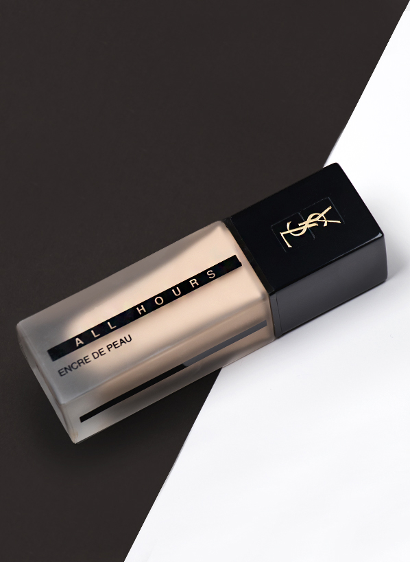 Yves Saint Laurent All Hours Foundation - Pack Shot - Blog Edit