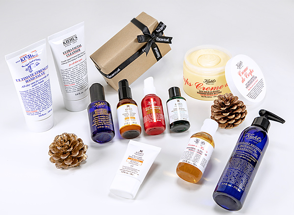 scentual Kiehl's Skincare Competition Christmas Win A £500 Hamper