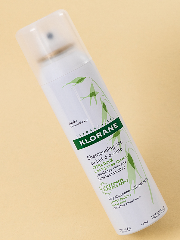 Klorane Oatmilk Gentle Dry Shampoo Spray