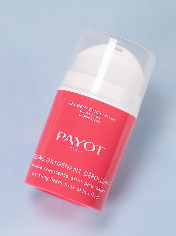 PAYOT Peeling Oxygenant Depolluant Crackling Foam Mask