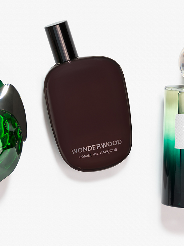 Image of Comme des Garcons Wonderwood fragrance bottle