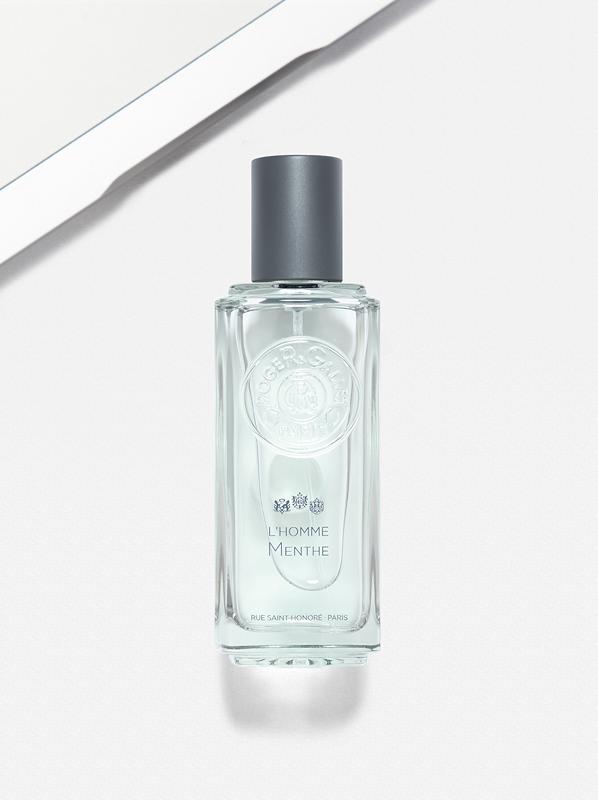 Fragrance Notes That Smell Like Summer: Mint - Roger & Gallet L'Homme Menthe Eau de Toilette Spray