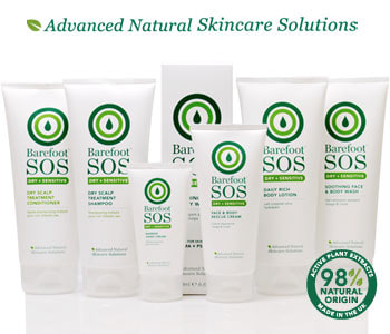 Barefoot SOS Dry + Sensitive