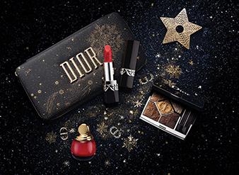 Dior Christmas Look - Golden Nights