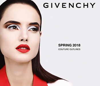 GIVENCHY Spring Look - Couture Outlines