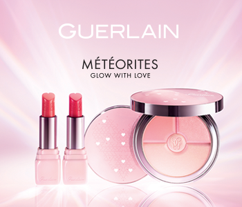GUERLAIN Spring Look - Météorites Glow With Love