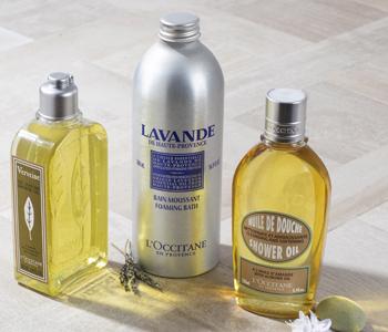 L'Occitane Bath & Shower Gels