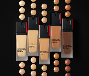 Shiseido Foundations