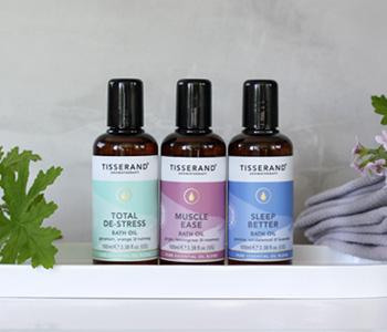 Tisserand Bath Oils
