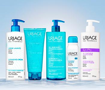 Uriage Body Cleansers & Exfoliators