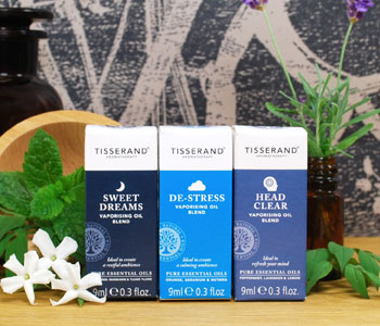 Tisserand Vaporising Oil Blends