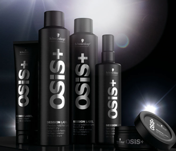 Schwarzkopf Osis+ Session Label