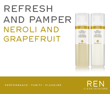 REN Neroli and Grapefruit