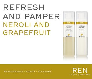 REN Neroli and Grapefruit