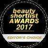 Beauty Shortlist Awards 2017 Editor's Choice