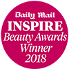 Daily Mail Inspire Beauty Awards Winner 2018