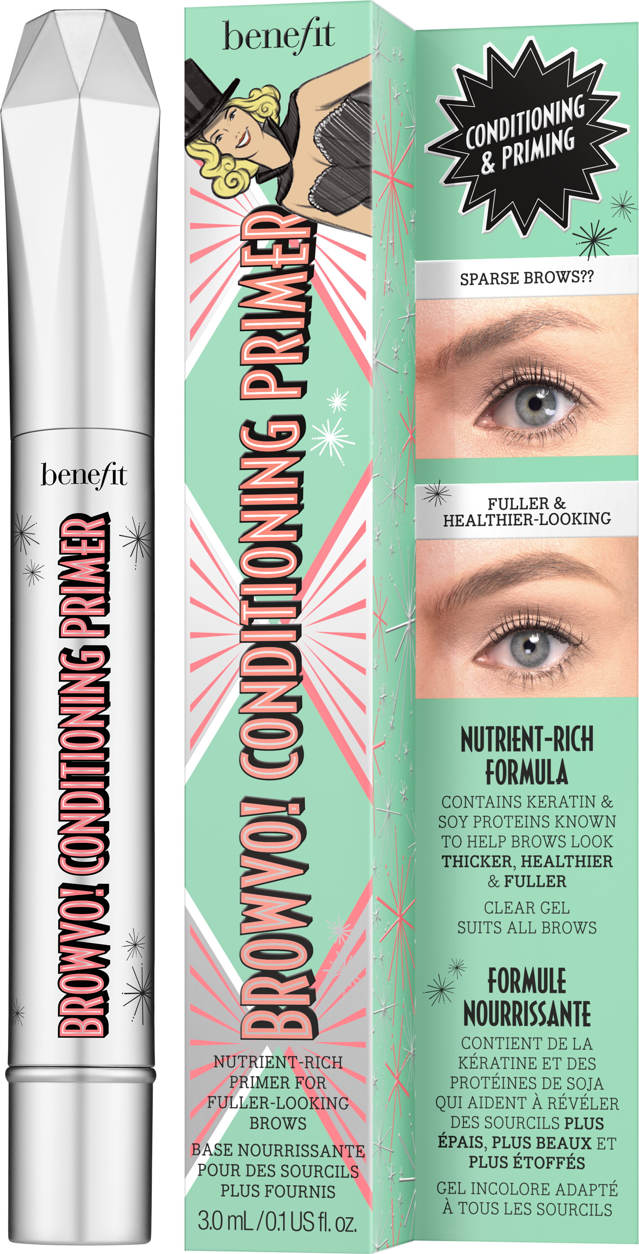 BROWVO! Conditioning Eyebrow Primer by Benefit #10