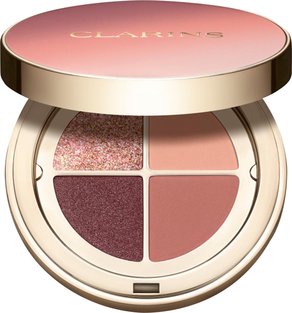 Clarins 4-Colour Eyeshadow Palette 01 - Fairy Tale Nude