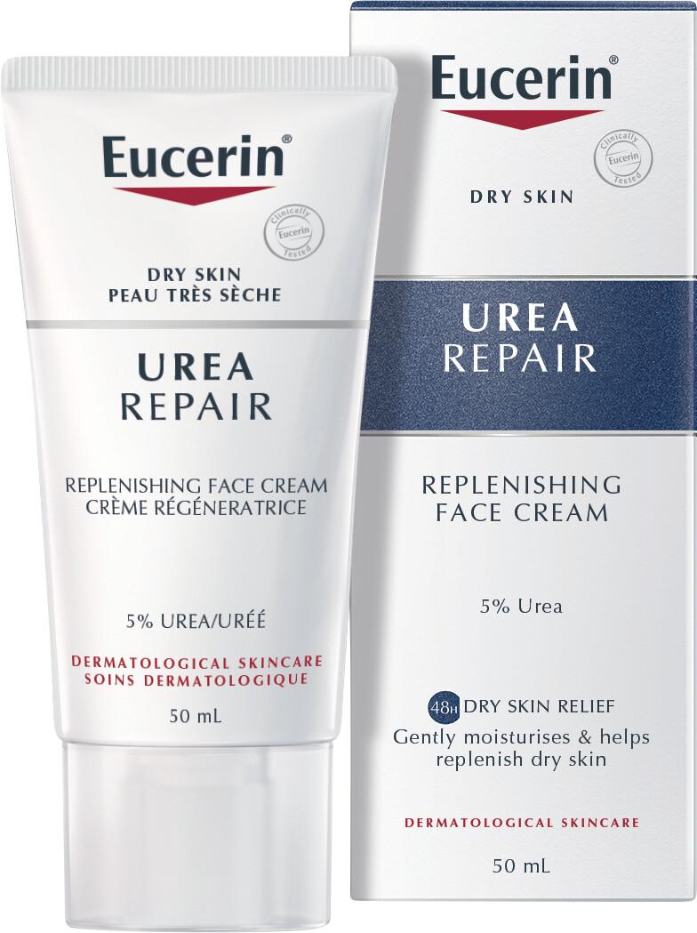 eucerin dry skin relief face cream