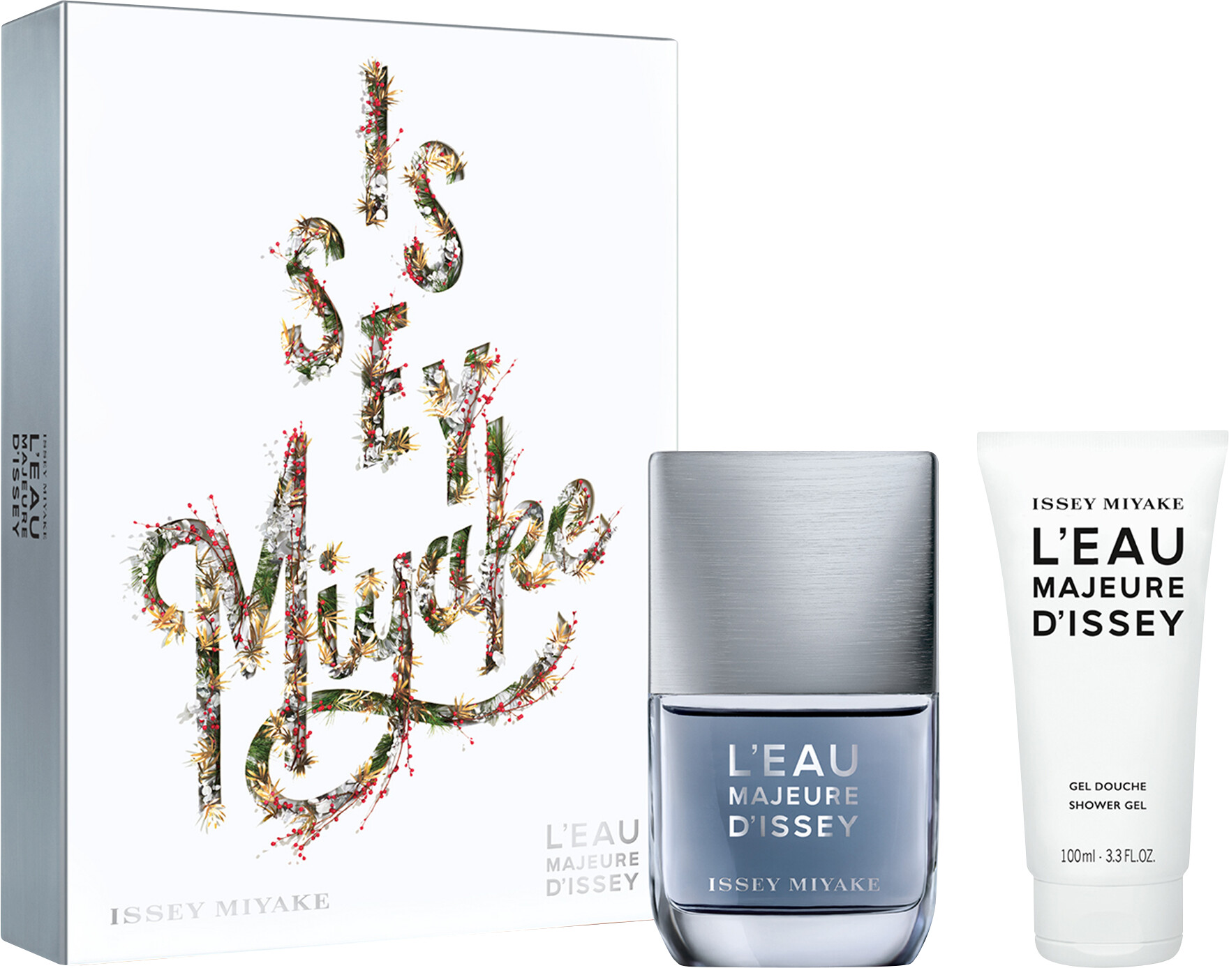 Issey Miyake Leau Majeure Dissey Eau De Toilette Spray Gift Set