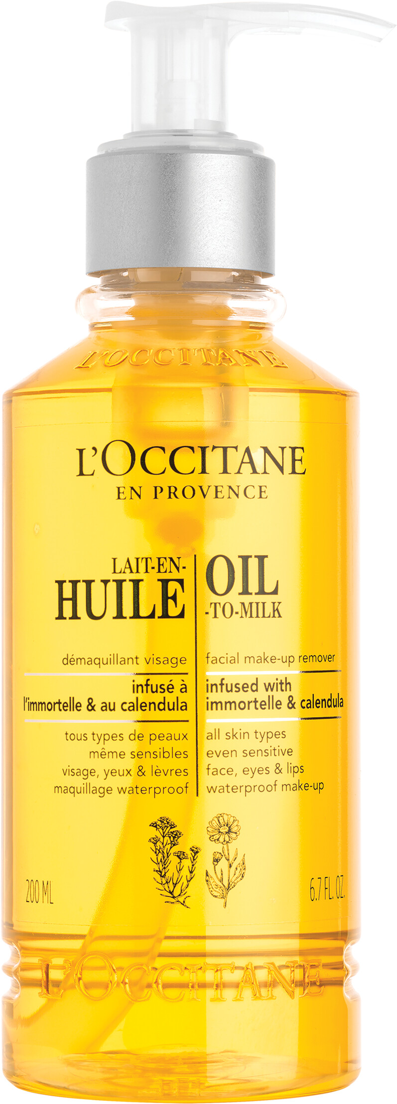 L Occitane Cleansing Infusion Oil To