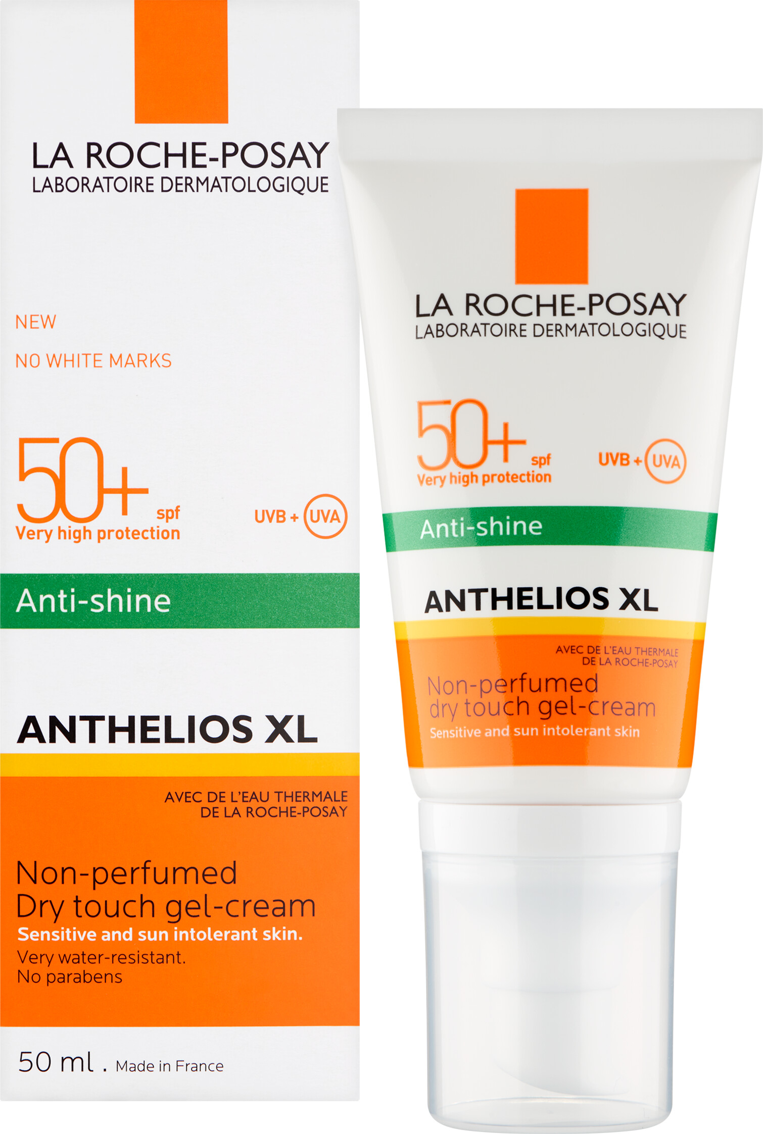 la roche posay anthelios xl anti shine dry touch gel cream spf50. Black Bedroom Furniture Sets. Home Design Ideas
