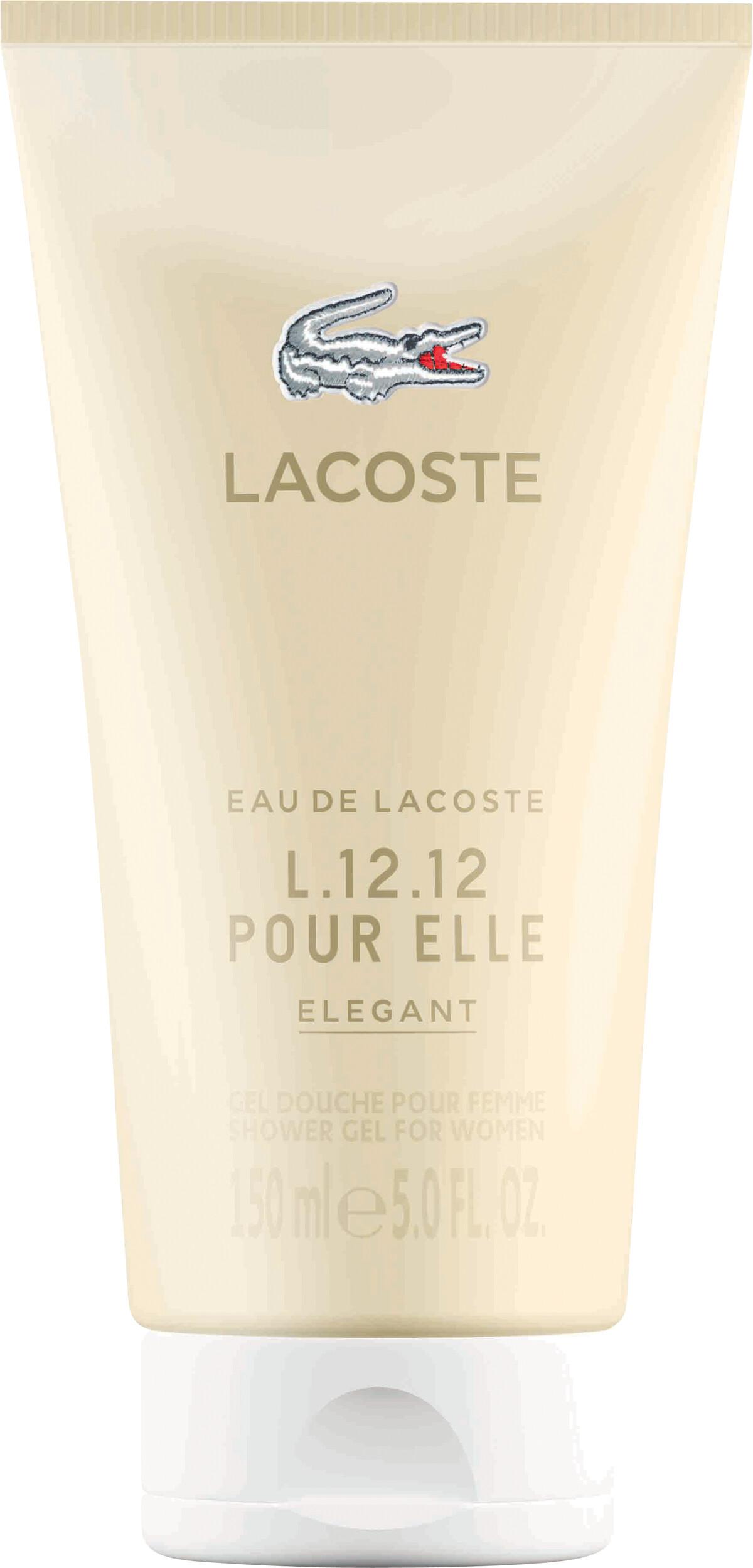 Lacoste Eau de Lacoste L.12.12 Pour Elle Elegant Shower Gel 150ml 62550c2d3d6c0