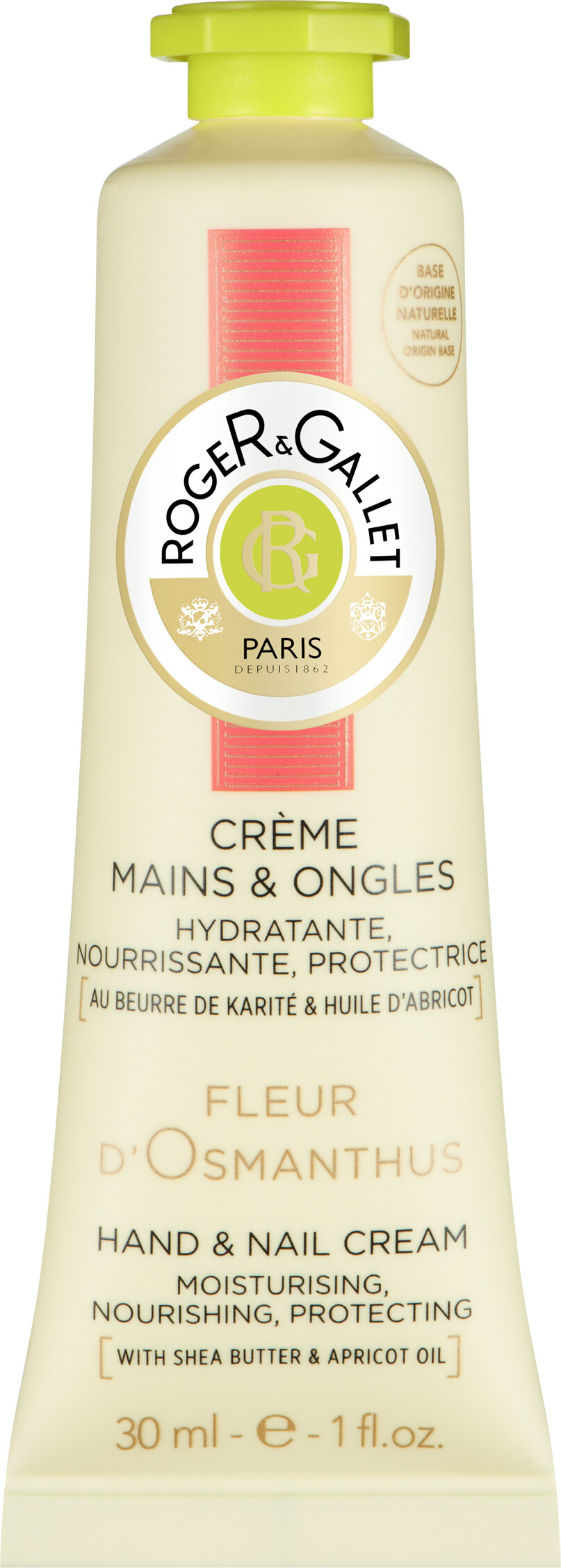 Roger Gallet Fleur D Osmanthus Hand And Nail Cream