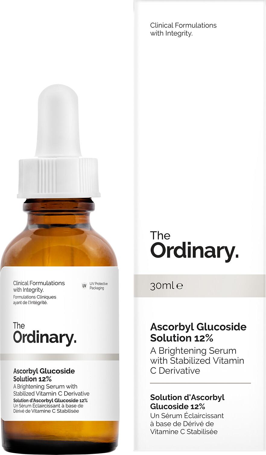 The Ordinary Ascorbyl Glucoside Solution 12 Alpha Arbutin 2 Ha30ml 30ml Box