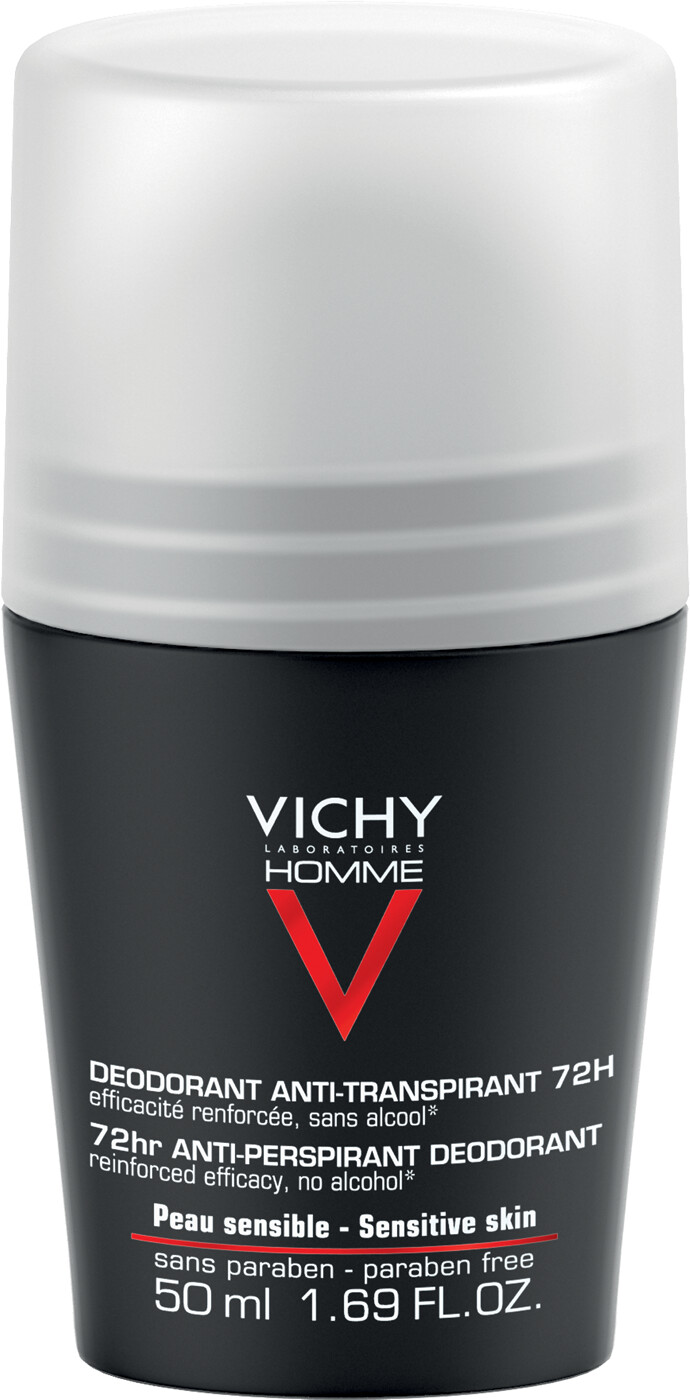 vichy homme 72hr extreme anti perspirant roll on. Black Bedroom Furniture Sets. Home Design Ideas