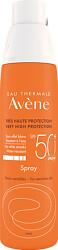 Avene Sun Care Very High Protection Spray SPF50+ 200ml