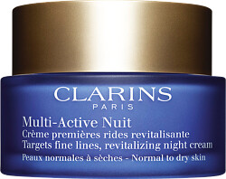 Clarins Multi-Active Nuit Revitalizing Night Cream - Normal to Dry Skin 50ml