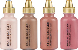Daniel Sandler Watercolour Liquid Blush - Customisable Colour Set for Cheeks 4 x 15ml