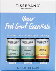 Tisserand Your Feel Good Essentials Oil Kit 3x9ml
