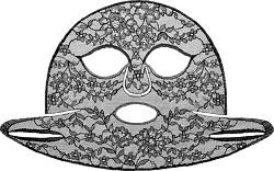 GIVENCHY Le Soin Noir Masque Dentelle - Lace Face Mask