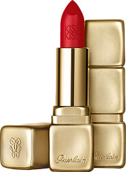 GUERLAIN KISSKISS Hydrating & Plumping Velvet Matte Lip Colour 3.5g M331 Chili Red