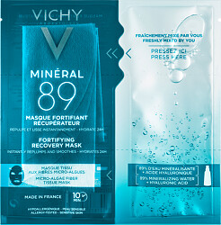 Vichy Mineral 89 Fortifying Instant Recovery Sheet Mask 29g