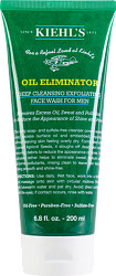 Kiehl's Oil Eliminator Deep Cleansing Exfoliating Face Wash For Men 200ml