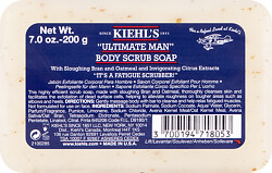 Kiehl's Ultimate Man Body Scrub Soap 200g