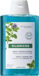 Klorane Mint Detox Shampoo 200ml