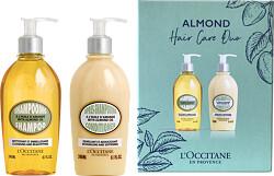 L'Occitane Almond Shampoo & Conditioner Hair Care Duo 2 x 240ml