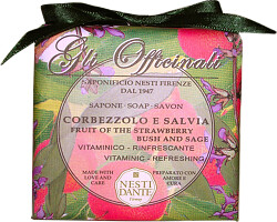 Nesti Dante Gli Officinali Fruit of the Strawberry Bush and Sage Soap 250g