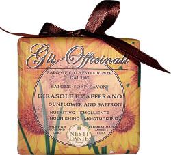 Nesti Dante Gli Officinali Sunflower and Saffron Soap 250g