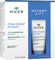 Nuxe Creme Fraiche de Beaute 48hr Moisturising Cream 30ml Gift Set